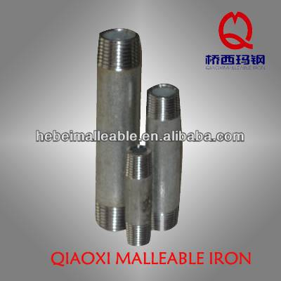 "3/8"" DIN threading carbon steel nipple"