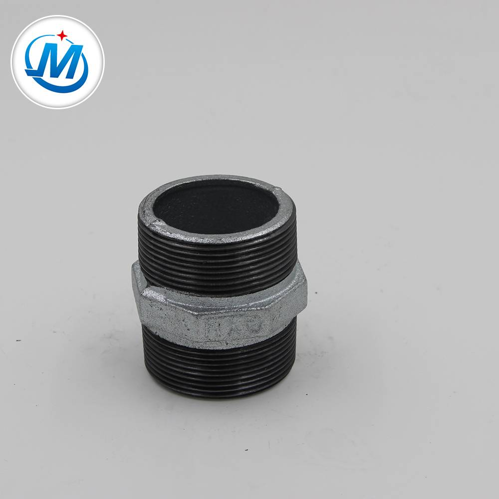 150# Cast Iron Pipe Fitting Nipple Hexagon