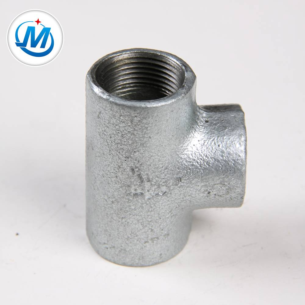 Plain Malleable iron tee
