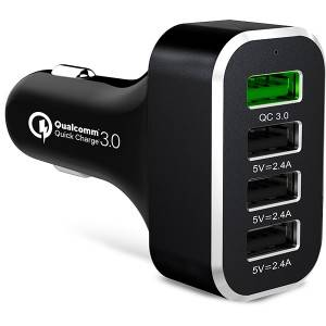54W Smart USB Car Charger