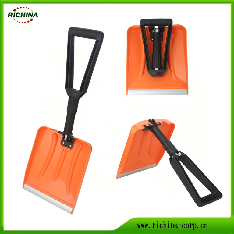 Plastiki Folding Snow Shovel kwa magari