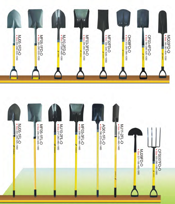 Carbon Steel Agricultura Shovels