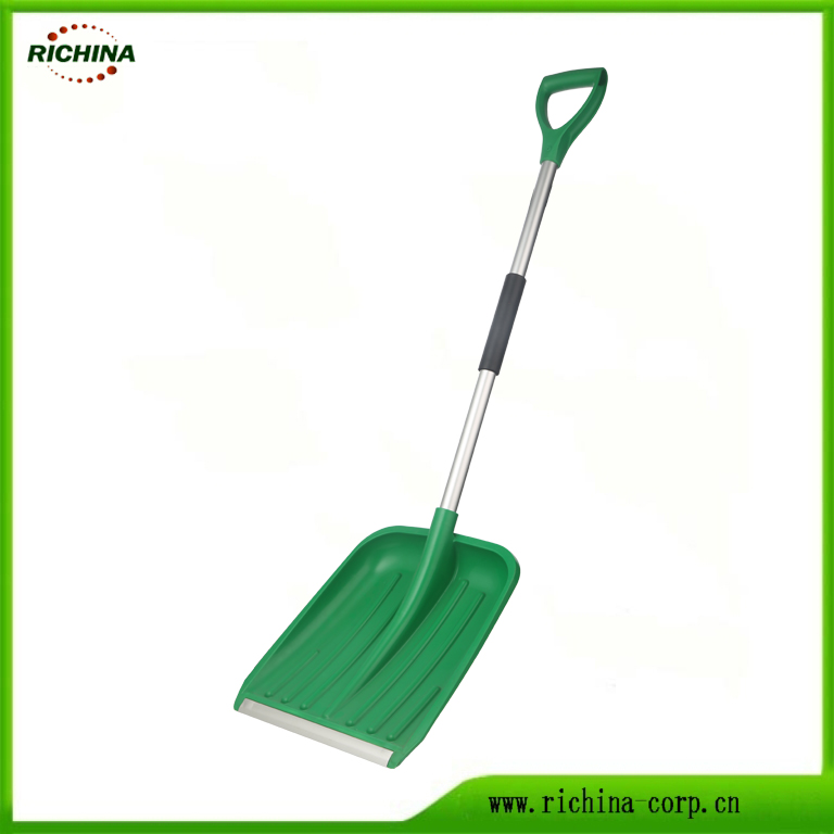 Plast Snow Shovel með Wear Strip