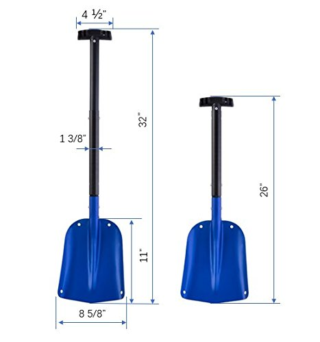 Quality Inspection for Aluminium Collapsible Snow Shovel -