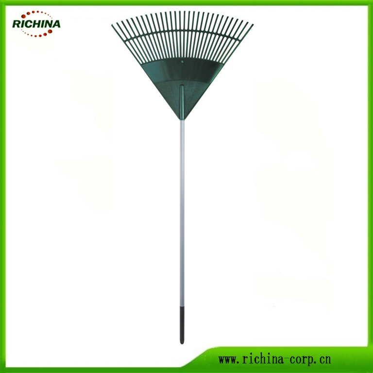 Long Çelik ilə plastik Leaf Rake Image Featured Qulp