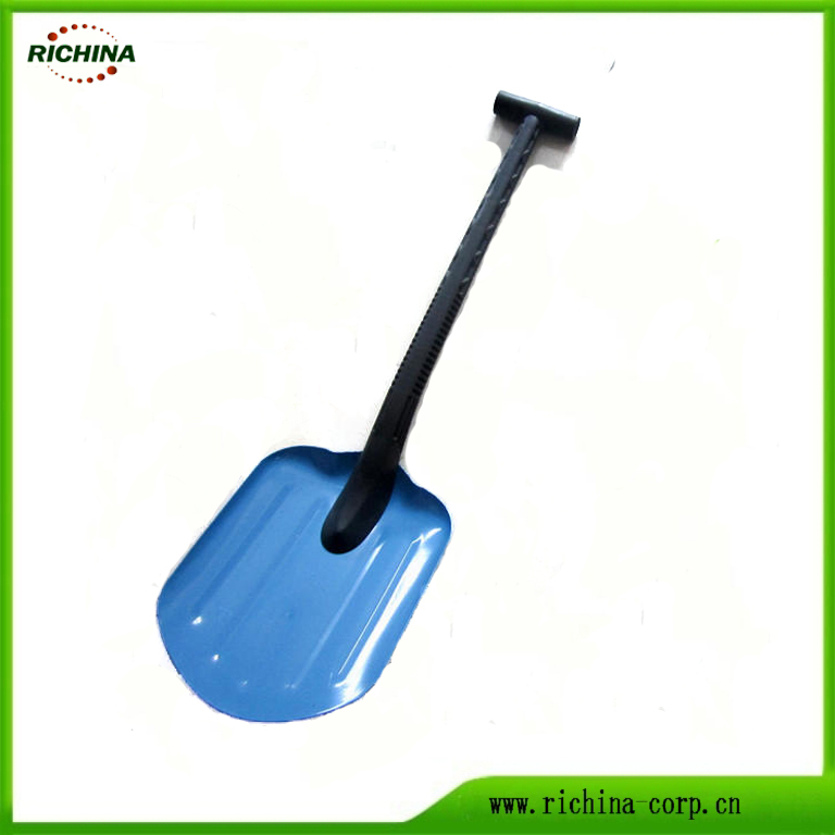 Dharura Portable Metal magari Snow Shovel