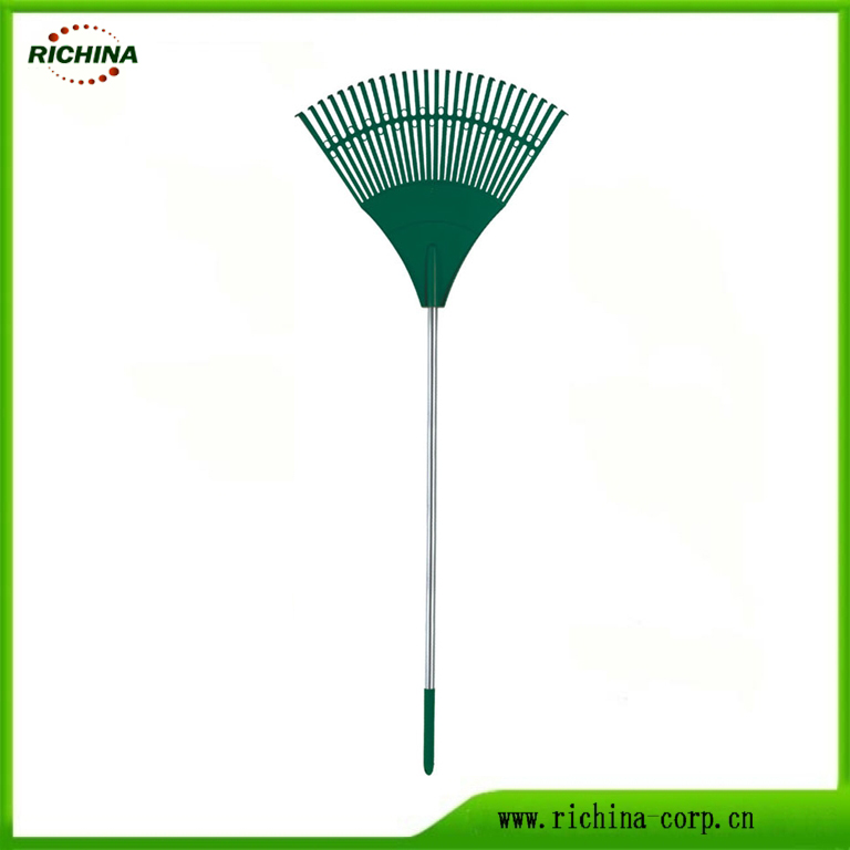 26 Teeth Rake Poly Leaf bi Handle Steel
