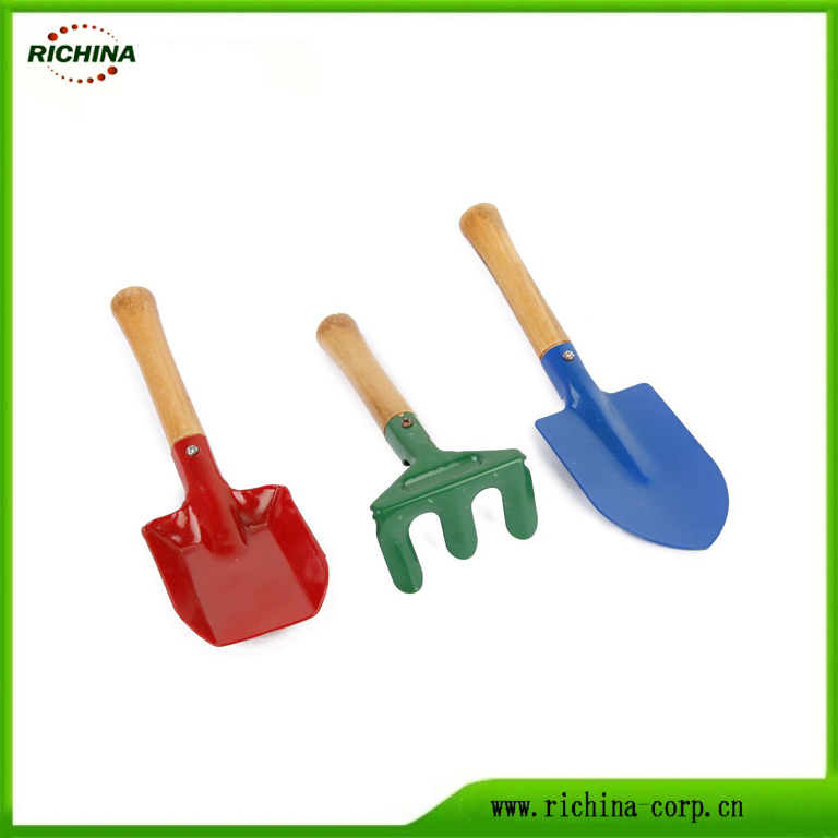Kids Garden Hand Tools cun Wood manicu