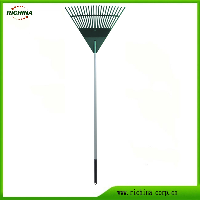 Garden Tools Long Handle Plastic Leaf Rake