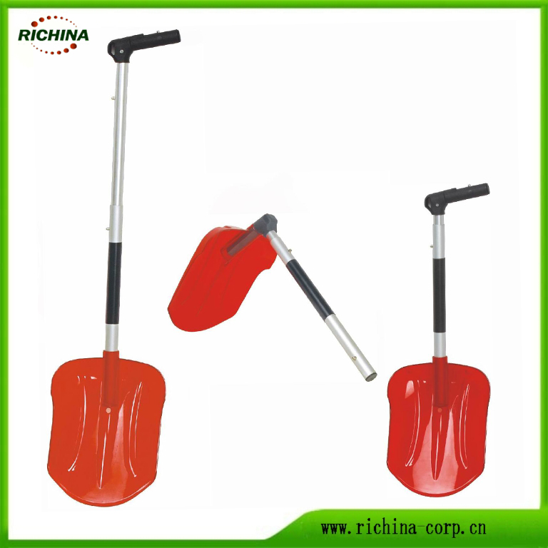 Plast Portable Gagnsemi Folding Car Snow Shovel
