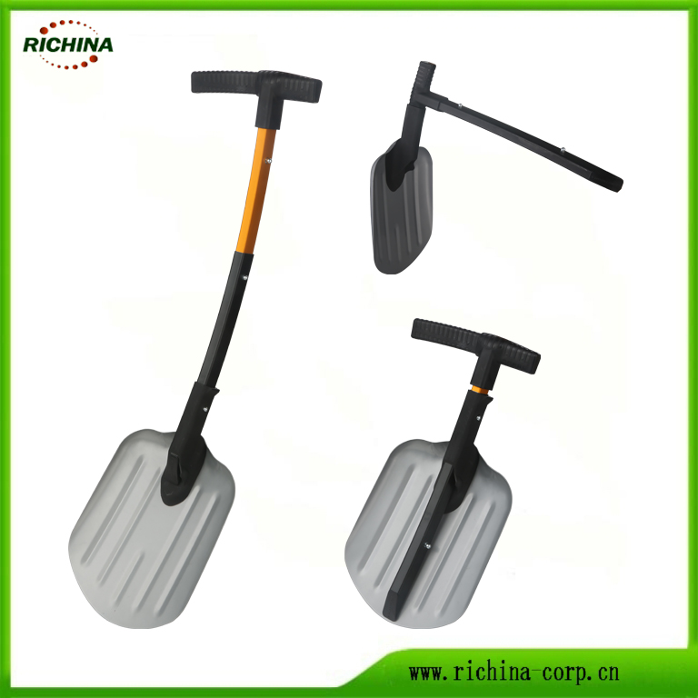 Dharura magari Snow Shovel na Handle telescopic