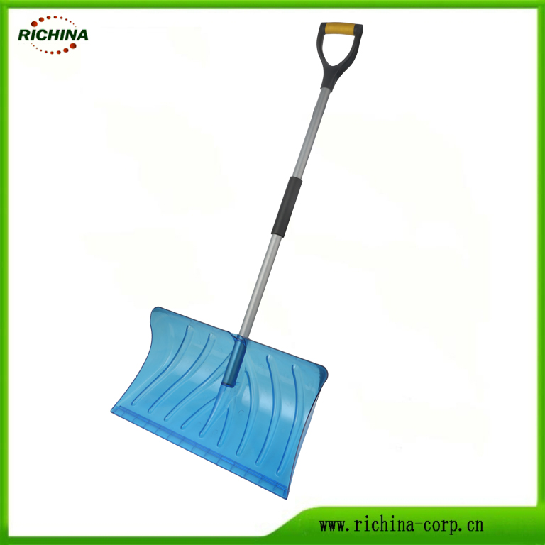 Translucent Snow Shovel with PC material Head