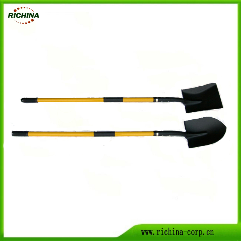 Fiberglass Handle Long Digging Tools Shovel biparêzin