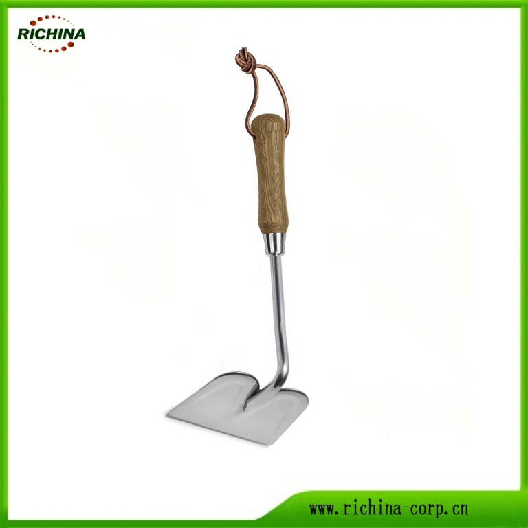 Utauta Garden Traditional Stainless Steel Hand Hoe
