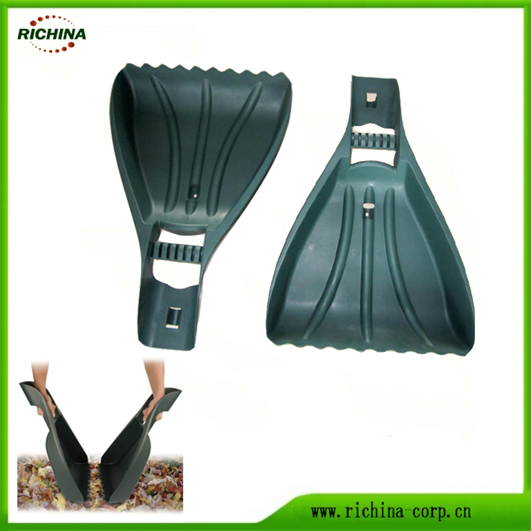 Garden Yardeko Leaf Scoop hostoak biltzea for
