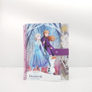 LOL Design album ,LOL spiral notebook with closure ,LOL  creative notebook ,LOL activity book,Disney Design album ,Disney spiral notebook with closure ,Disney  creative notebook ,Disney activity book