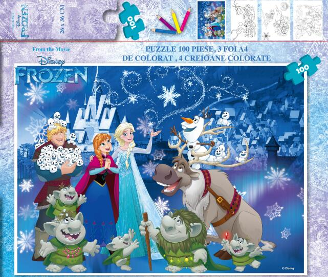Disney Papar Puzzle Set 100 Pcs,Disney Puzzle Set,LOL Papar Puzzle Set 100 Pcs,LOL Puzzle Set