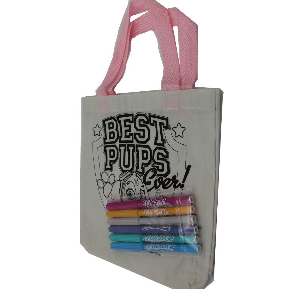 Creativity Colour-in Drawing bag for kids