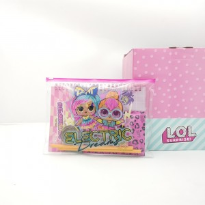LOL PVC pencil case set ,LOL Filled pvc set ,LOL Stationery set ,Disney PVC pencil case set ,Disney Filled pvc set , Disney Stationery set