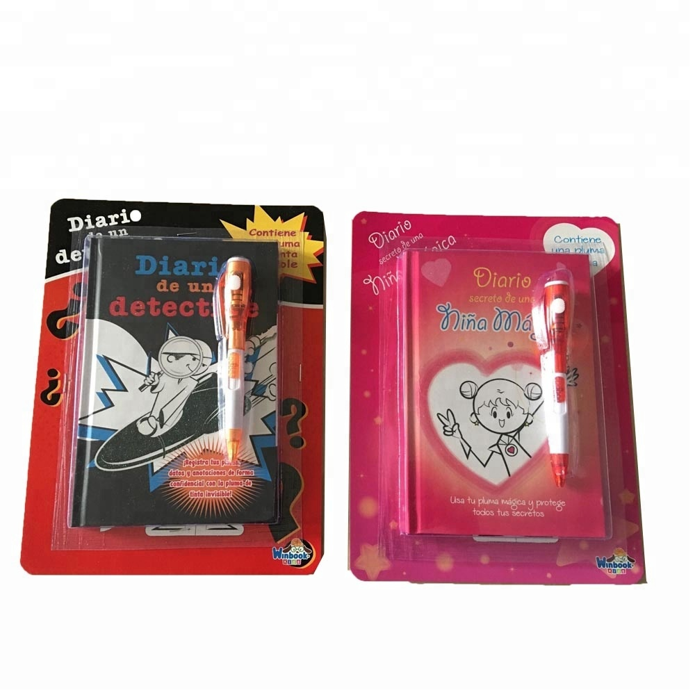 Diary notebook mei magic pinne set