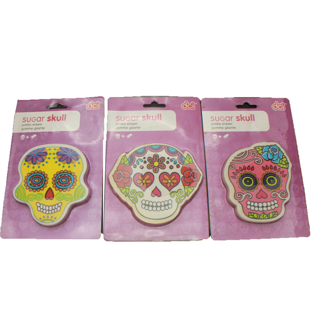 Good quality Toys For Kids - ER-R004 PRINTED DIE CUT ERASER SKULL ERASER – Ricky Stationery