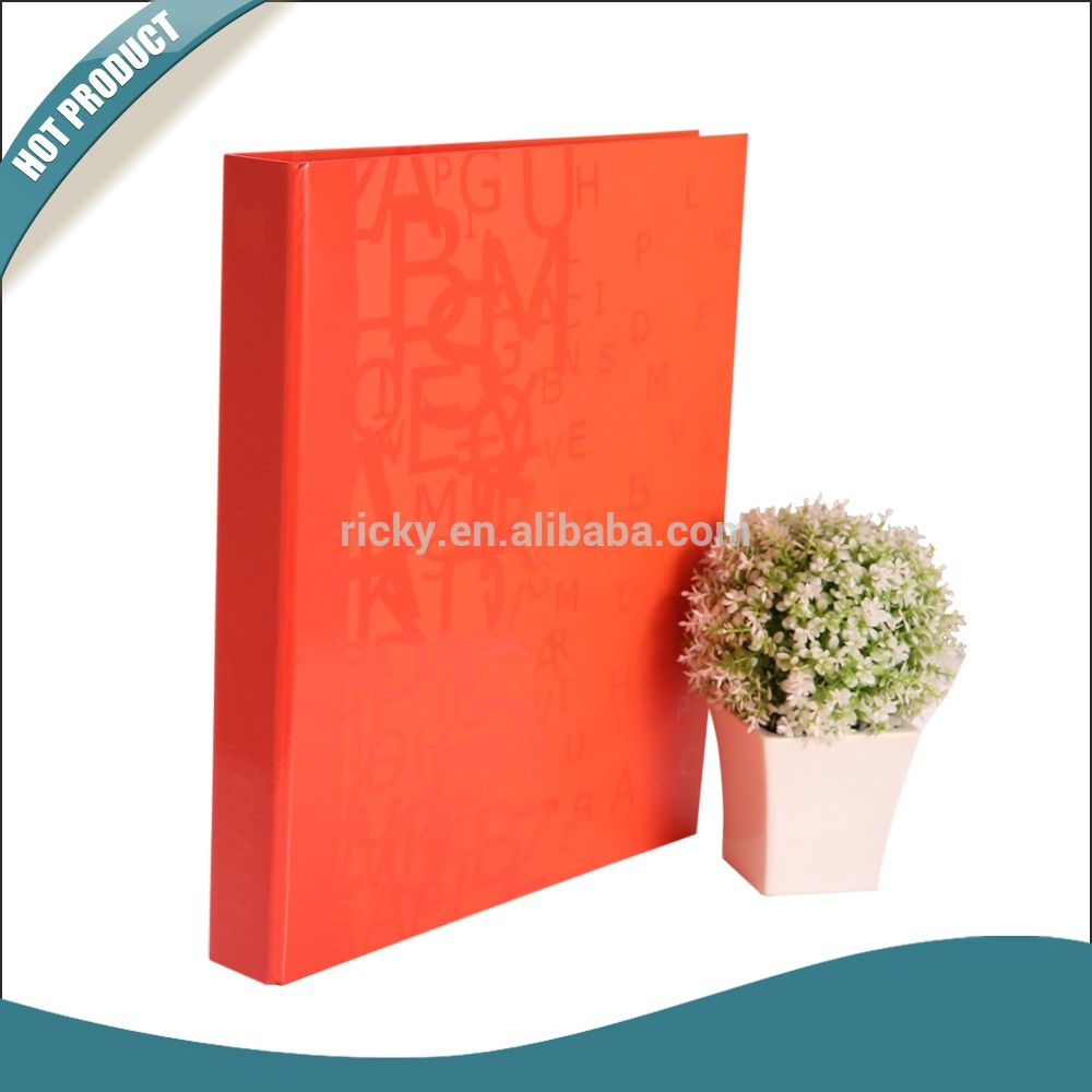 Ricky FF-R015 2015 Fashion paper Ring Binder