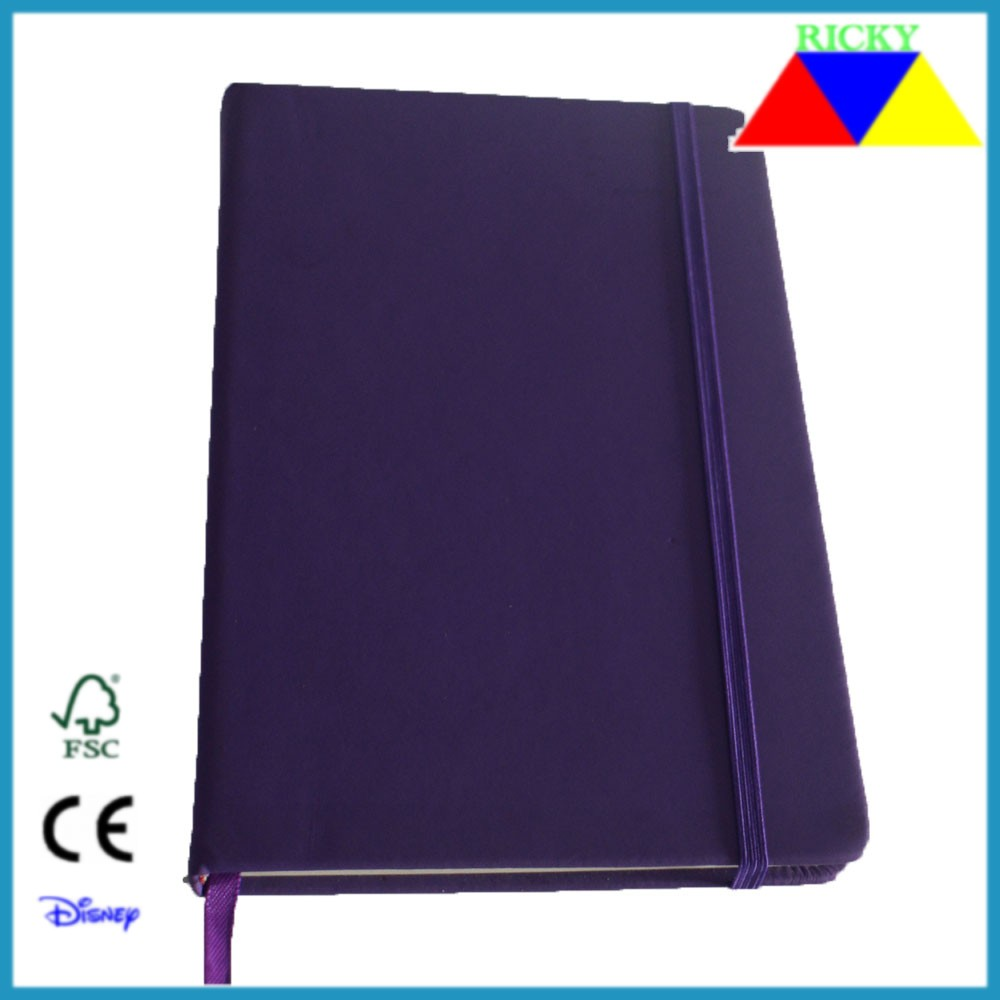 NB-R012 top quality customized 2015 pu agenda several colors assorted