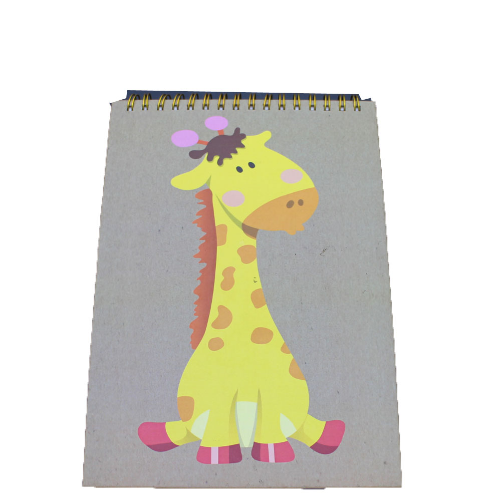 High Performance New Stationery Products With Custom Brand - NB-R059 fashion design A5 notebook FSC diecut notepad – Ricky Stationery