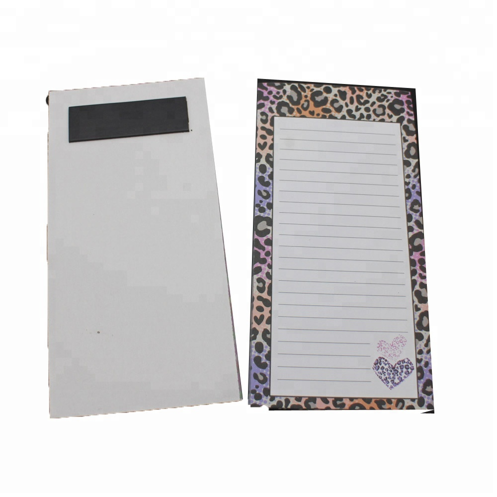 OEM/ODM Manufacturer Gift Box Packing Stationery Set - NB-R064 magnetic ruled notepad wholesale hot selling for one dollar or one Euro store – Ricky Stationery