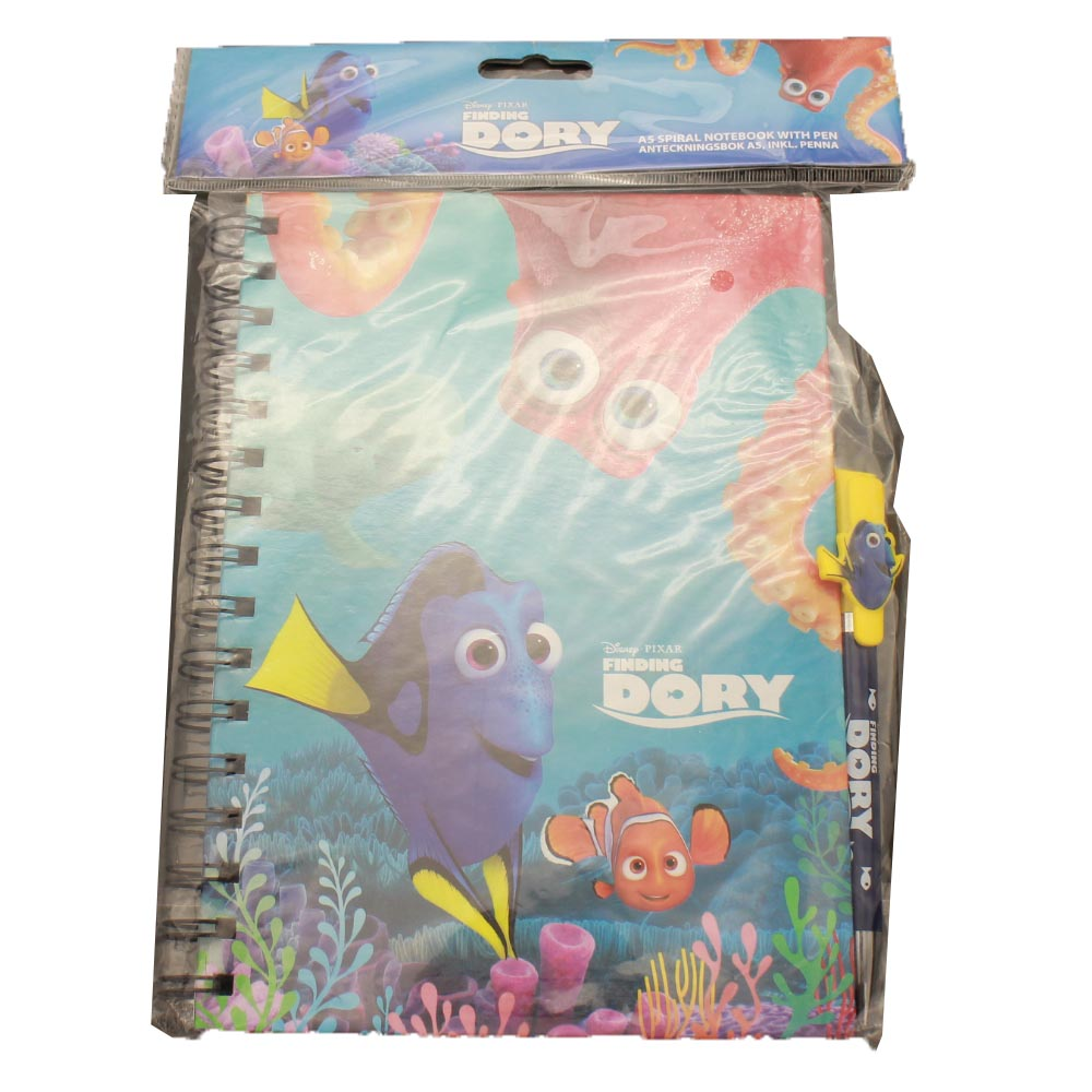 Finding Nemo Novelty Notebook Spiral Jurnal Stationery