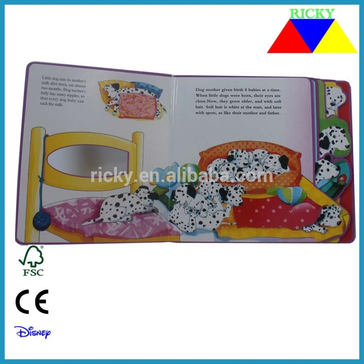 NB-R078 children's book customized EVA story book