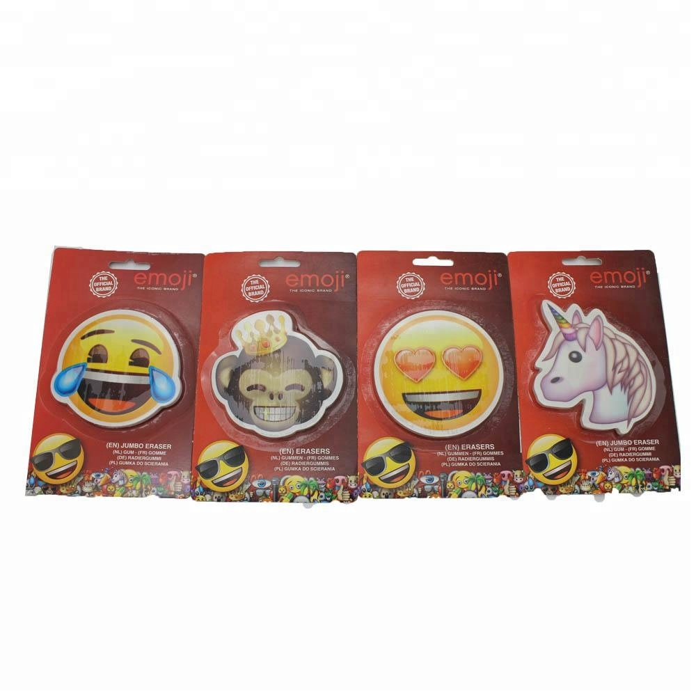 ER-R012 ERASER SET IN EMOJI SHAPE