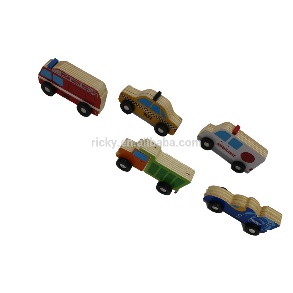 Creative Intelligence educational mini smart toy car for big kids wooden toy car