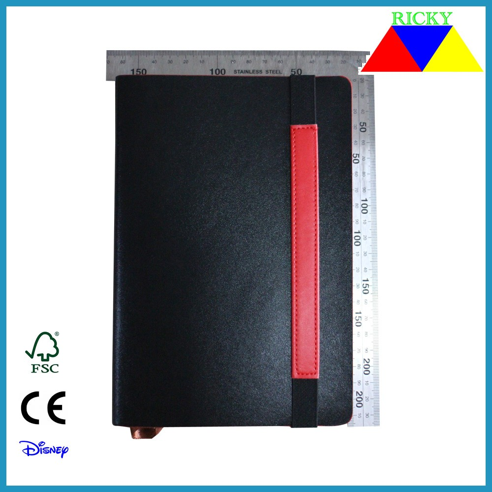 NB-R005 top quality customized pu composition notebook several colors assorted