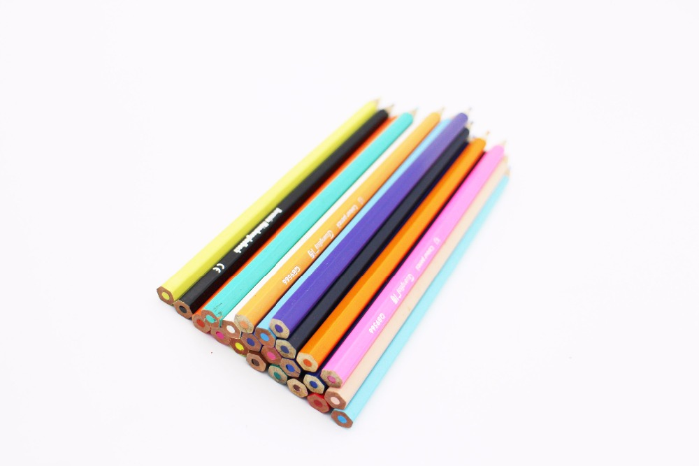 Best for kids ,high quality cheap 7 inch colored pencil