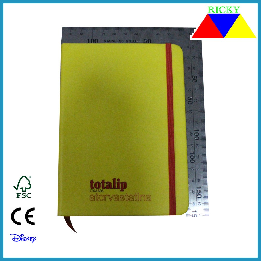 NB-R006 top quality customized A6 pu address book FSC