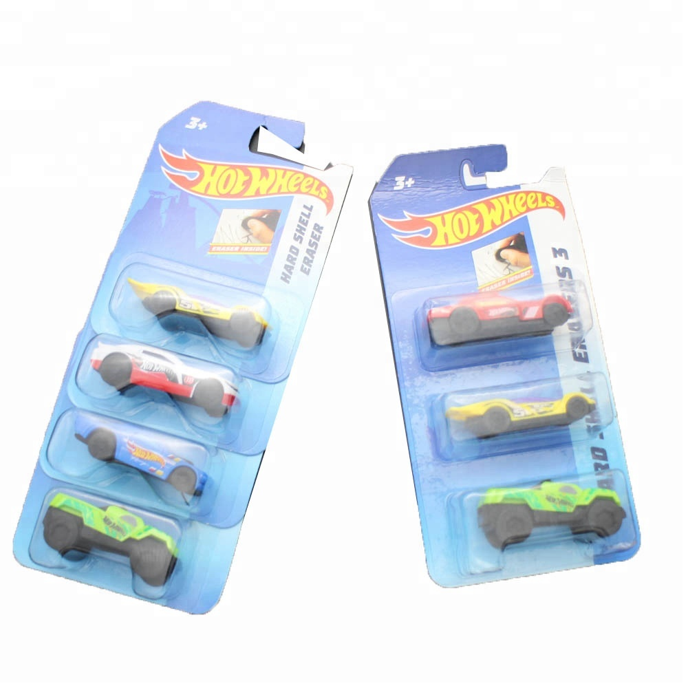 Racing Car shaped Eraser for Pupils Kids School Office Stationary