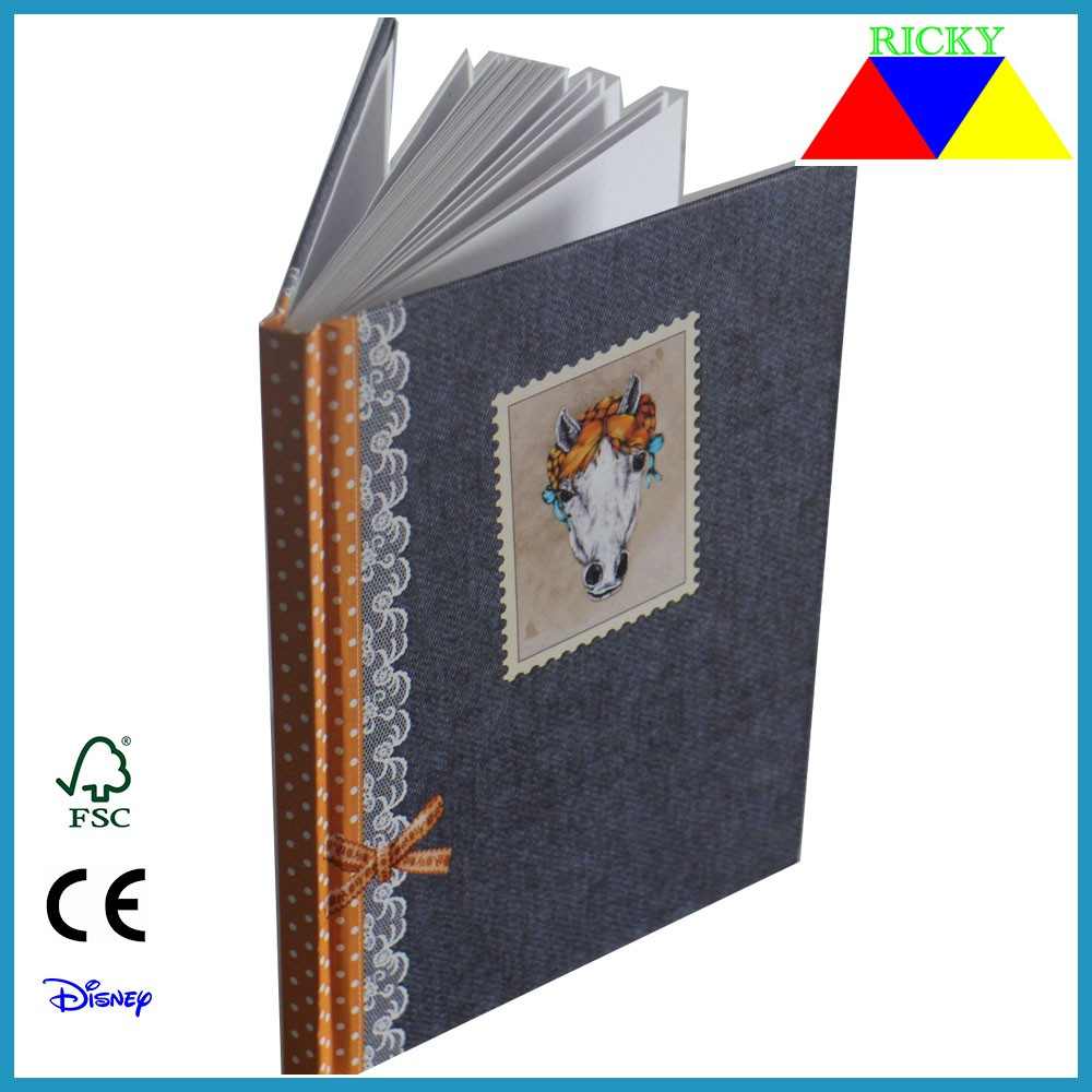 NB-R014 full color printing A5 hard cover notepad