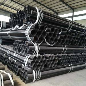 Factory Directly supply 50mm Mild Steel Round Pipes -