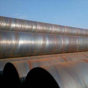 Manufacturer for Fluid Transmission Spiral Steel Pipe -
