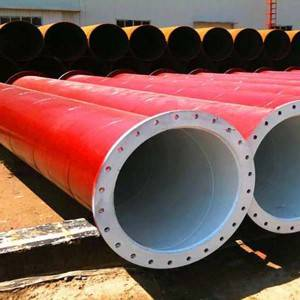 Good quality Epoxy Coated Firefighting Steel Pipe -