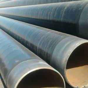 CE Certificate Black Seamless Steel Pipe Tube -