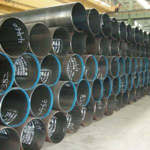 Factory Directly supply Astm A36 Ssaw 3pe Coating Steel Pipes -