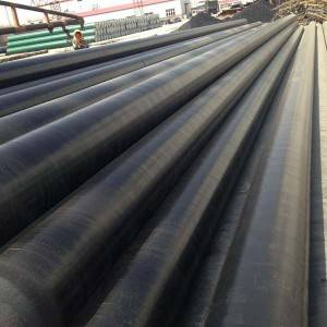 China New Product 3pe Coating Carbon Steel Pipe -