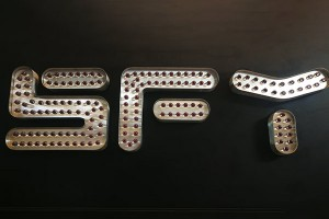Stainless Steel Decorative Marquee Led Letters