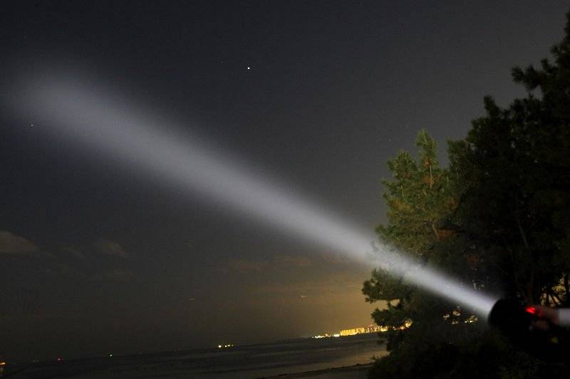 Important news: in April 2020, a Marine Corps decided to purchase 300 SL-100 searchlights