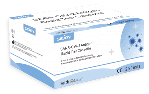 SARS-CoV-2 Antigen Rapid Test Cassette For Self Test With High Accuracy