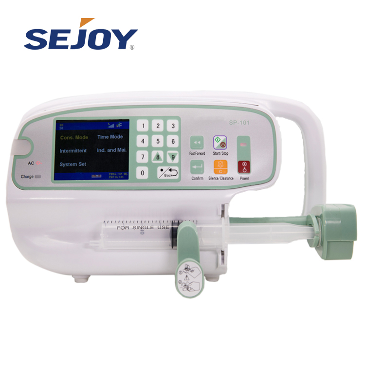 Hospital Medical Grade Elektronik Single Syringe Pump