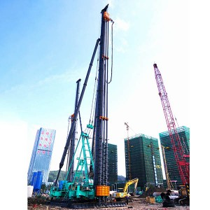 JB170 Hydraulic Walking Piling Rig