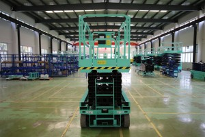 S1212 Self-Propelled Scissor Lifts